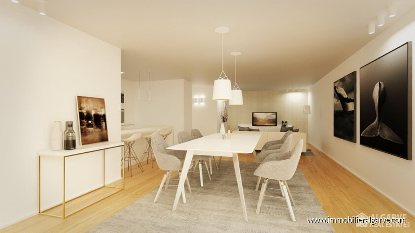 Appartements de style contemporain en construction avec 2 chambres