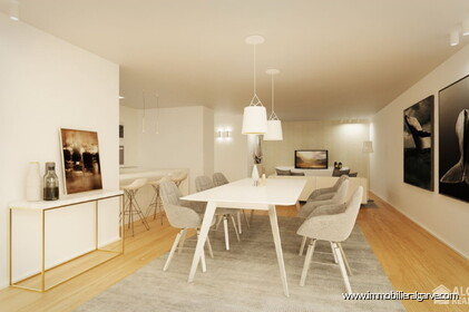 Appartements de style contemporain en construction avec 3 chambres - 1