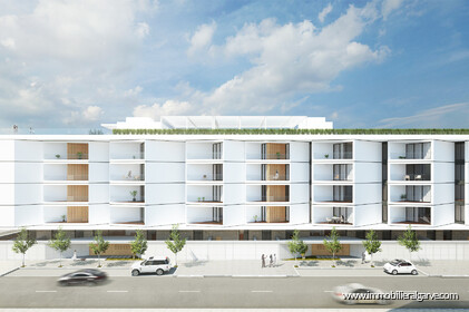 Appartements de style contemporain en construction avec 1 chambre - 24225