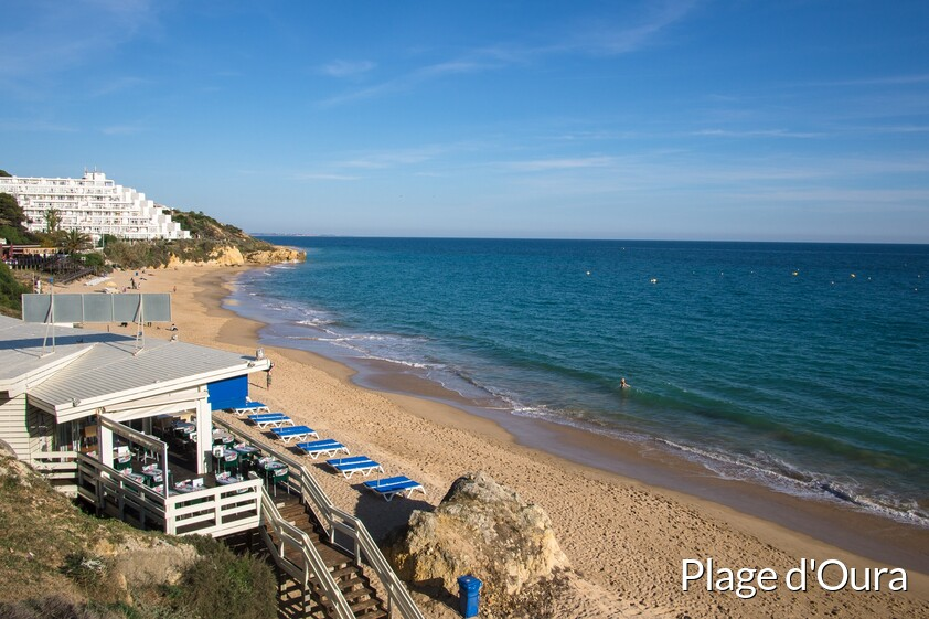 Plage d'Oura Albufeira