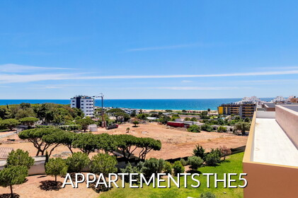 THE5 - Appartements avec vue sur la mer à Quarteira